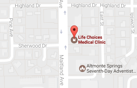pregnancy testing, considering abortion, learn about options, life choices medical clinic, altamonte springs, florida, orlando